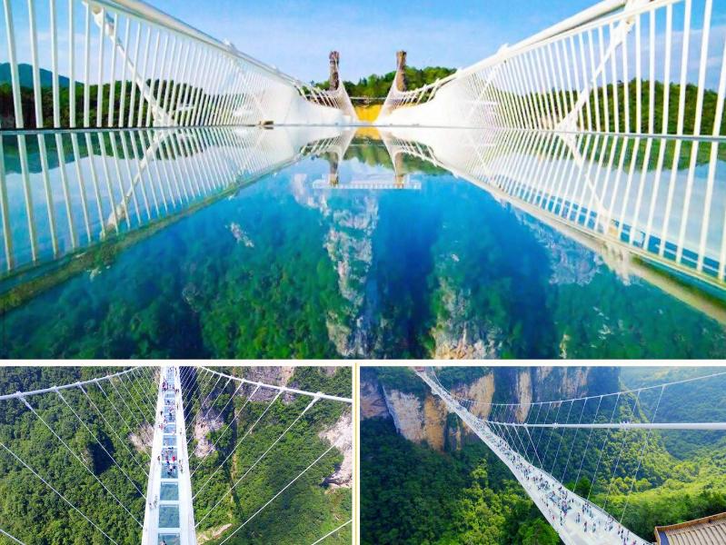 张家界走进大自然品质3日游森林公园+天子山+大峡谷(玻璃桥)